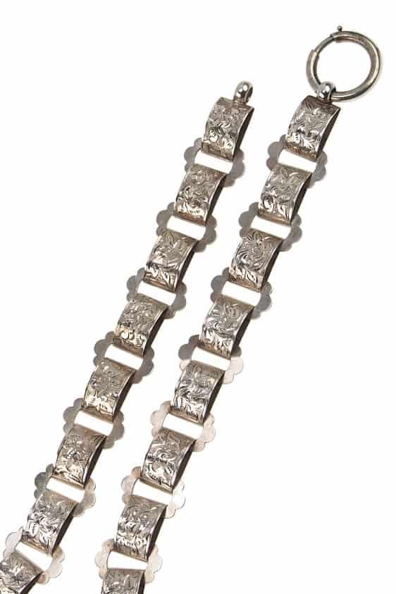 antike-Medaillonkette-647b