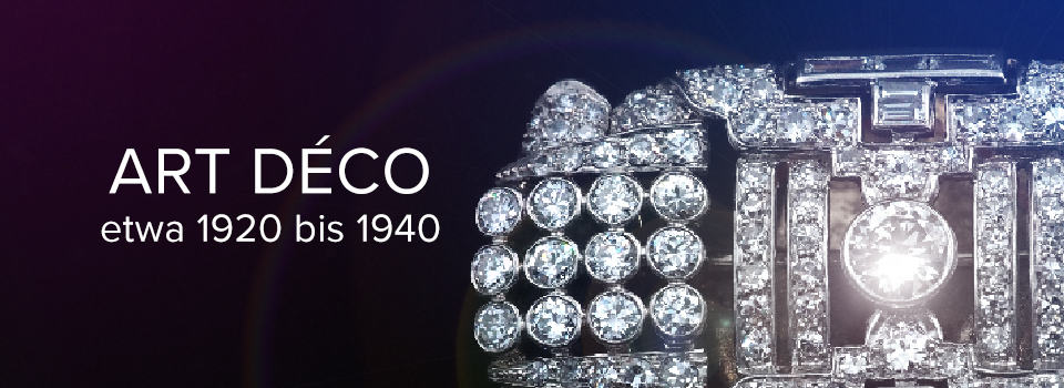 Originaler Art déco Schmuck