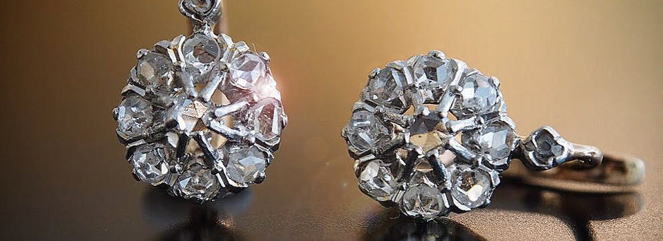 Antike Ohrringe online kaufen | Antique Jewellery Berlin