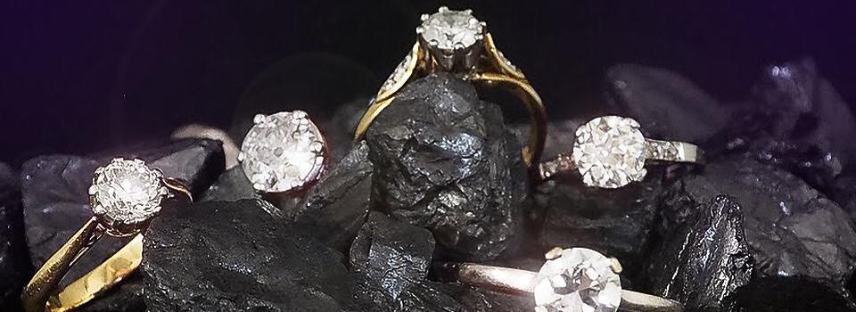 Antike Verlobungsringe mit Diamanten
