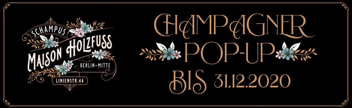 Champagner PopUp bis 31.12.2020